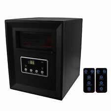 LifeSmart Large Room 1000W Portable Electric Infrared Quartz Room Space Heater