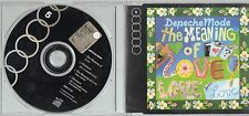 DEPECHE MODE CD single 4 TRACCE The meaning of love 1991