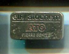 RARE PINS PIN'S .. PETROLE OIL  ATO ELF ATOCHEM PIERRE BENITE ~A2