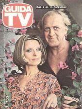 GUIDA TV 1977 N.49 SANDRA MONDAINI RAIMONDO VIANELLO CLAUDIA CARDINALE