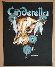 Cinderella , Long Cold Winter Backpatch, 1988, rar, rare
