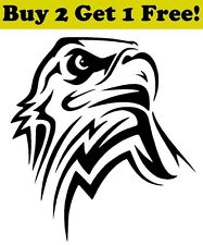 Bald Eagle Vinyl Decal Sticker Bumper Window Wall America USA Pride Tribal
