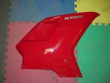 DUCATI RIGHT SIDE MID MIDDLE FAIRING COWL RED 1098 1198 848 SUPERBIKE