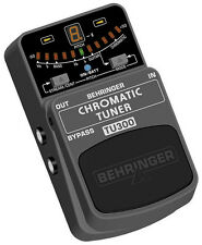 Brand New BEHRINGER TU300 Chromatic Guitar & Bass Tuner with 7 Tuning Modes