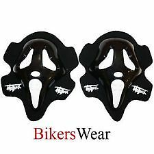 MOTRAX Knee Slider Scream Black As Pair
