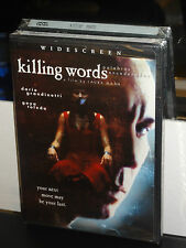 Killing Words (DVD) Laura Mana, Dario Grandinetti, BRAND NEW!