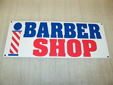 BARBER SHOP Banner Sign NEW XL Extra Large 4 Hair Salon Nail Supply Tip w/ Pole