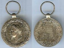 Médailles en variantes - Médaille d'Italie 1859 Napoléon III Barre