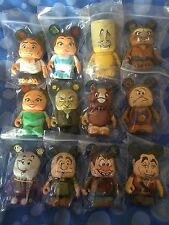 Disney Vinylmation - Beauty and the beast, Set of 12 with Chaser