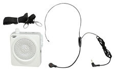 NEW Pyle 50W Portable  Waist-Band Pa System W/ a Headset Microphone  Aux Input