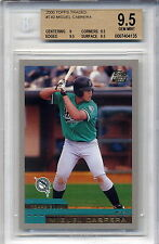 Miguel Cabrera Tigers 2000 Topps Traded #T40 Rookie Card rC BGS 9.5 Gem Mint