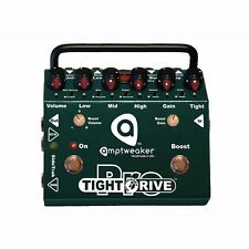 Amptweaker Tight Drive Pro Overdrive 3-Band EQ FX Loop Guitar Effects Pedal