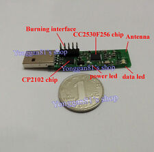 1 Set USB to Zigbee Wireless CC2530F256 Chip USB Wireless Serial CP2102 Modulus
