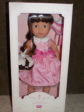 "Pottery Barn Kids 18"" Peyton Birthday Doll Gotz New"