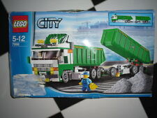 LEGO CITY 7998, GARBAGE TRUCK, COMPLETE WITH BOX AND MANUAL
