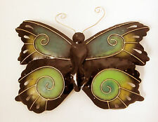 Steel BUTTERFLY wall mounted lamp-shade, three-dimensional wall decor/ art, new