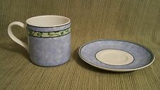 Wedgwood Home Watercolour coffee mug & NWT saucer