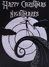 "Nightmare Before Christmas Card - ""Feliz Navidad pesadillas"""