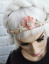 Mystical Mermaid Starfish Alt Girl Crown Ariel Sea Shell  HeadBand Soft Grunge