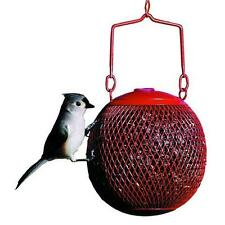 No/No Red Seed Ball Wild Bird Feeder New