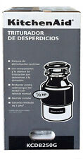 KitchenAid KCDB250G 1/2 HP Continuous Feed Garbage Disposal BRAND NEW&SEALED