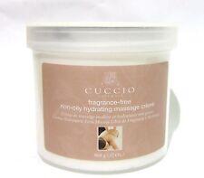 CUCCIO Naturale Cuccio FRAGRANCE FREE Massage Creme 32oz/908g