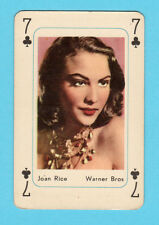 Joan Rice 1959 Maple Leaf Gum Movie Film Star Playing Card