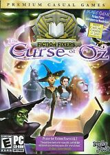 FICTION FIXERS Curse of Oz + Adventures in Wonderland Hidden Object PC Game NEW