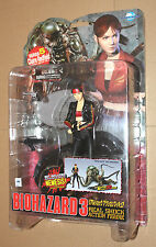 Resident Evil Claire Redfield Figure Moby Dick Serie 5 with Nemesis Type 3 Part