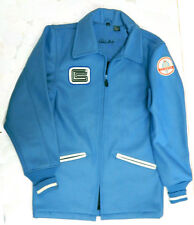 SHELBY COBRA WORLD CHAMPIONSHIP TEAM JACKET, ORIGINAL BLUE WOOL SHELL,  SIZE L