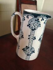 "Vintage  GRIMWADE BROS- STOKE-ON-TRENT ""Rose"" Tall Pitcher  -RARE -"