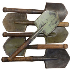 Original Post WW2 Russian ENTRENCHING SHOVEL TOOL - 1946 Stamp Issued Army Spade