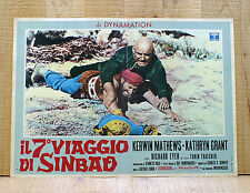 IL 7° VIAGGIO DI SINBAD fotobusta poster The 7th Voyage of Harryhausen Mathews