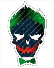 Suicide Squad Joker Repositionable Decal Graphic Sticker Gift Supervillain Movie