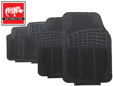 VW VOLKSWAGEN POLO GTI 06-09 UNIVERSAL HEAVY DUTY RUBBER CAR FLOOR MATS