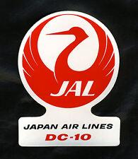 DC-10 JAL STICKER - JAPAN AIR LINES DC-10