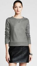 Banana Republic Women Foil Sweatshirt NWT Sz Small
