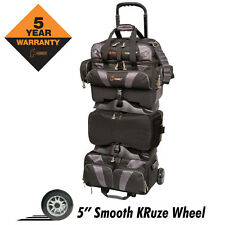 Hammer Premium Black/Carbon 6 Ball Roller Bowling Bag