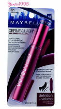 MAYBELLINE Define-A-Lash Volume Mascara # 821 VERY BLACK