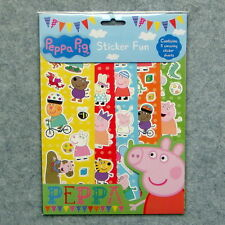 Licensed New Version BNIP Peppa Pig Stickers Party Supplies