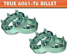 """4 Pcs Wheel Adapters 6x5.5 to 6x5.5 ¦ Older Chevy 7/16"""" Studs Spacers 1"""""""