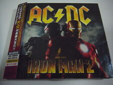 AC/DC-Iron Man 2 JAPAN 1st.Press w/OBI DVD KIss Iron Maiden Black Sabbath Rush
