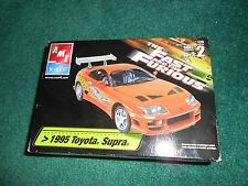 THE FAST AND FURIOUS 1995 Toyota Supra MODEL KIT AMT/ ERTL 31980 NEW UNSEALED