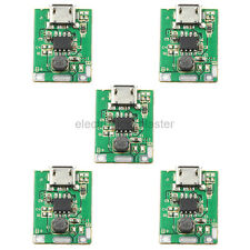 5pcs 5V Micro USB Boost Step-up Lithium Battery Power Charging Protection Module