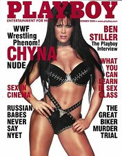 Chyna 8x10 Photo WWE Diva Champ DX November 2000 Playboy Magazine Cover Picture