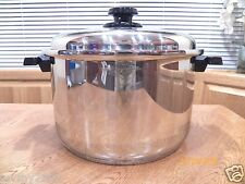 WEST BEND KITCHEN CRAFT 12 QT FAMILIE COOKER POT WATERLESS COOKWARE USA MADE