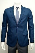 Men's Blue Linen Sport Jacket Size 46L NEW Blazer