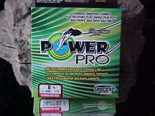 Power Pro 8lb Fishing Line in Color PHANTOM RED for Bass/Walleye/Pike/Pickerel