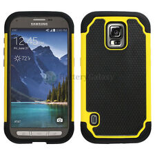 Hybrid Rugged Rubber Matte Hard Case Cover Skin for Samsung Galaxy S5 GS5 Active