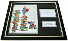 SIR QUENTIN BLAKE Signed FRAMED Photo Display genuine AUTOGRAPH MATILDA ART COA
